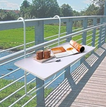 balcony folding table hanging