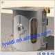 High temperature electric aluminum induction melting funrace glass smelter