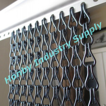 100% Anodized Aluminum Chain Link Drapery