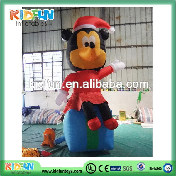 Quality most popular inflatable christmas cartoon /christmas