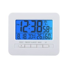 led electronic calendar temperature timer clock