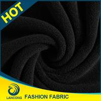 2015 Top quality for garment Elastane cvc fleece fabric stocklot