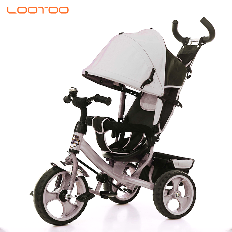 Competitive price baby bikes with parent hand / children three-wheeled bicycle / baby cycle models