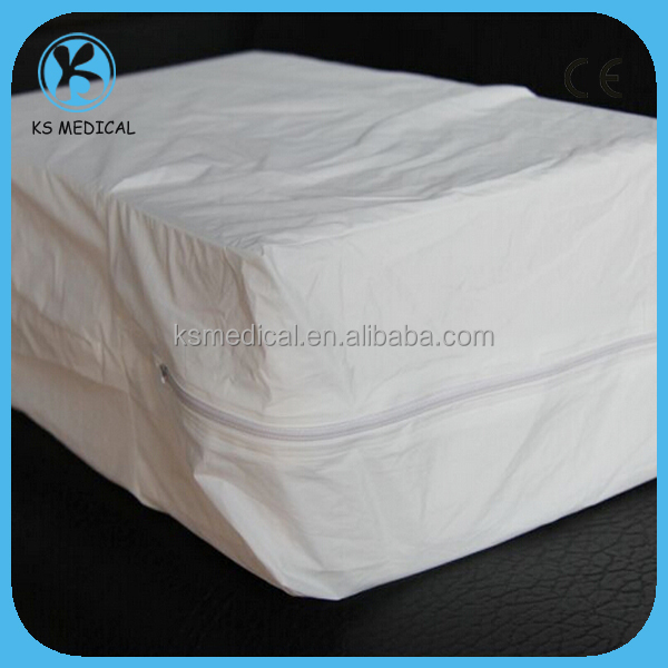 Vinyl Waterproof Bed Bug Mattress Cover Mattress Protector