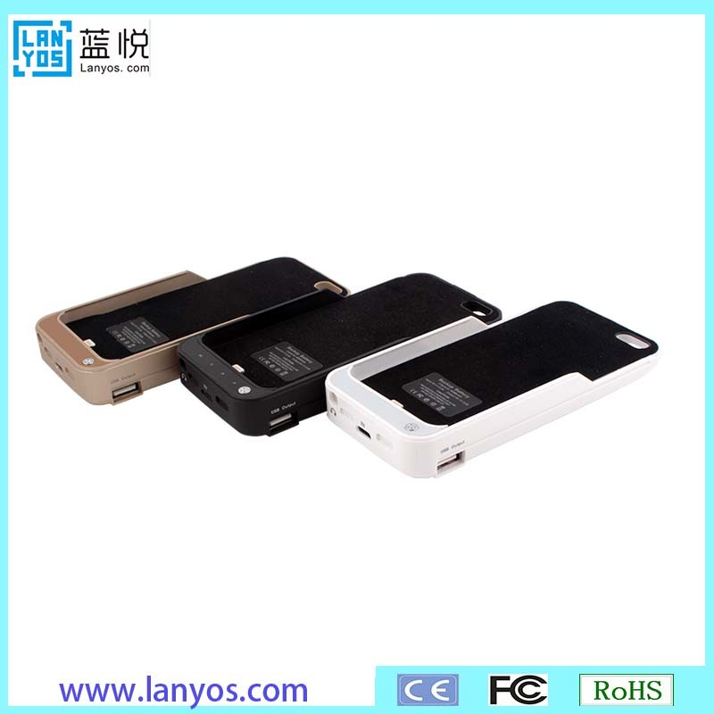 Battery case Carrying Case Cover for iphone5 power bank case