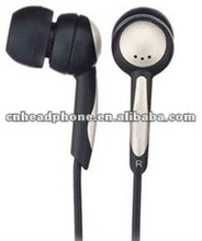 cool shape earphone with silicone ear-cup soft for ear