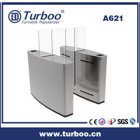 Security Multifunction 304 Stainless Steel Sliding gate For Corporate Building Foyers