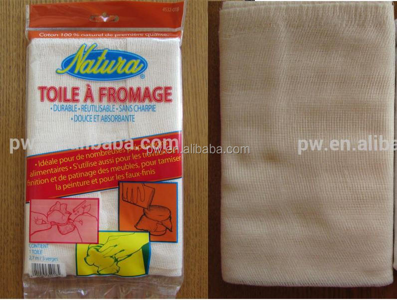 "Grade 10 Unbleached cheese cloth 20pcs/lot 3sq.yds Natural Cotton Cheese Cloth For Family 36""x3yards Free shipping"