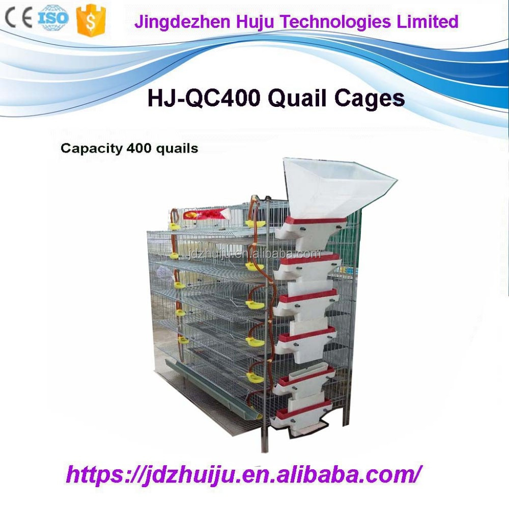 used quail cages for sale/ layer quail cages for sale/ quail breeding cage HJ-QCX400