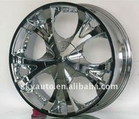 TWG chrome alloy wheels