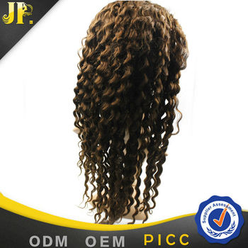 2015 JP Hair shedding and tangle free baby hair lace wig