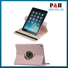 360 Degree Rotating Flip Cover Leather Case For iPad Mini