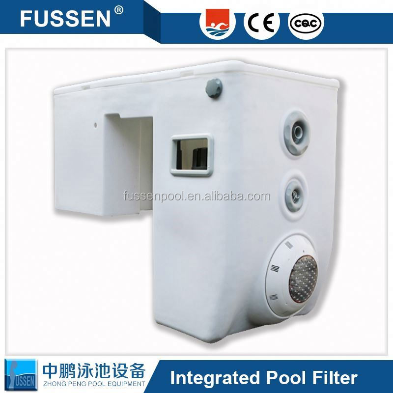 Integrated Wall Hung Pipeless Swimming Pool Water Filter Portable Best Pool Filtration Combo