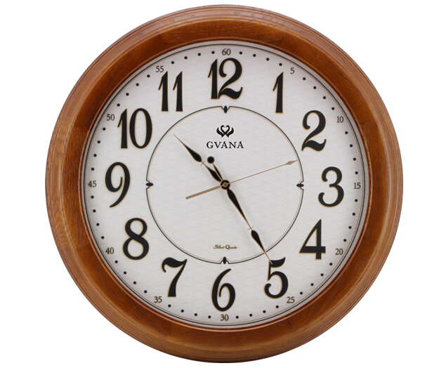 12inch wooden wall clock decoration items fashional clock, epiphone guitars, wall flip clock, clock insert