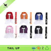 Pet dress harness accessories dog clothes