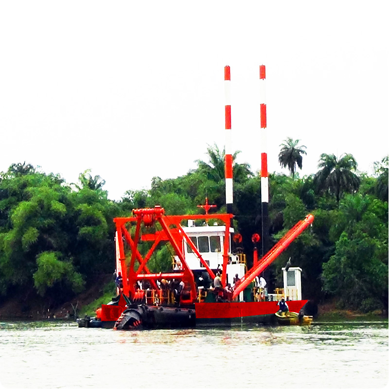Sand Pumping Machine Dredger Vessel for sale