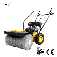 Cheap pavement sweeper runway sweeper leaf sweeper