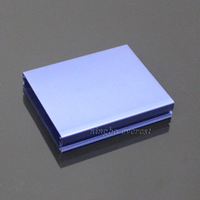 Aluminum extrusion box housing shell cover For 89.7mm width PCB