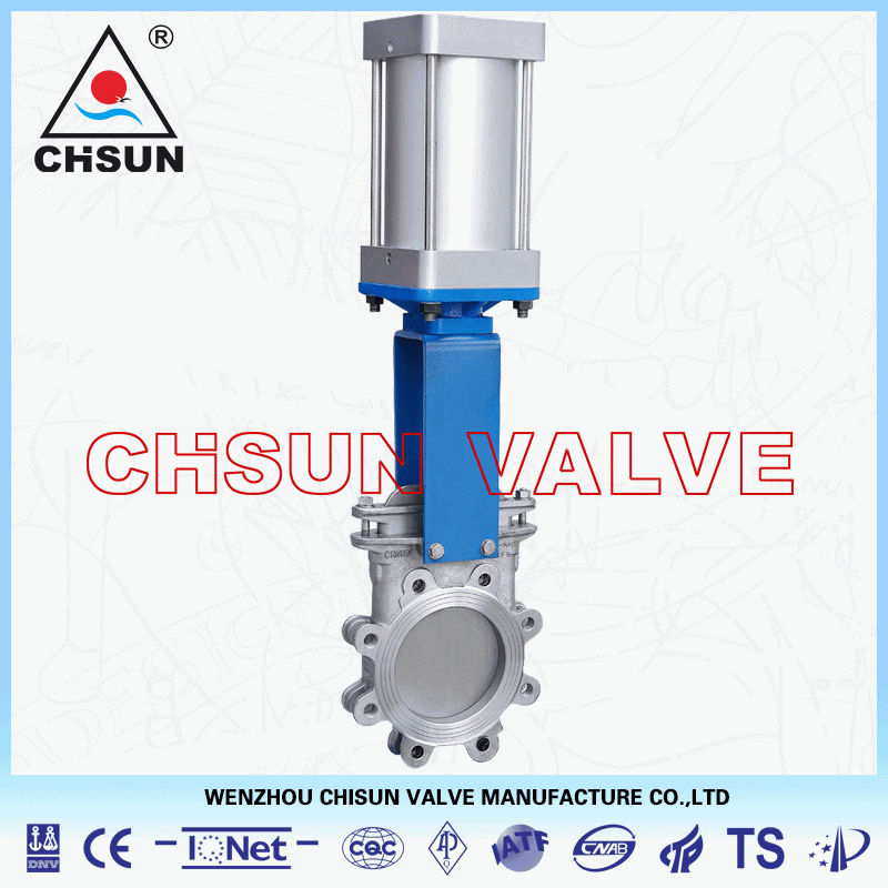 QB Pneumatic Operated Stainless Steel Gate Valve