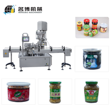 Mingbo High Speed Automatic Tomato Sauce Glass Bottle Filling And Packing Machines