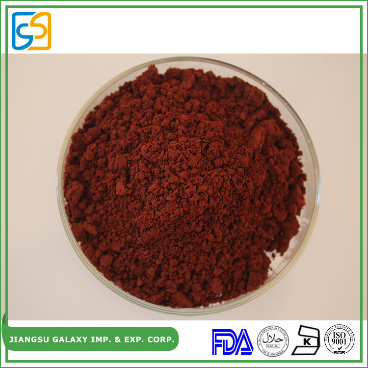 GMP manufacturer algae herbal factroy supply dark red astaxanthin oleoresin or powder