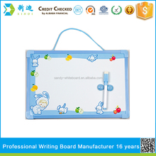 Lanxi xindi pvc frame kids whiteboard for gift 2016