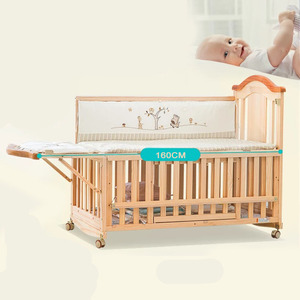 Wholesale bestseller wooden baby crib extenders/good quality adult size baby cribs