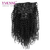 Wholesale one piece clip in curly hair extension