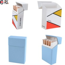 Silkscreen Silicone Printing Logo Craft and 20pcs Capacity cigarette pack