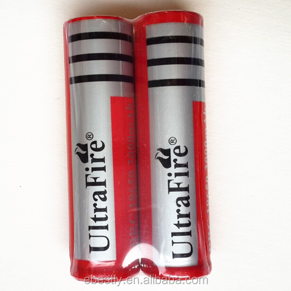 UltraFire ICR 18650 battery 3000mAh 3.7V Protected Rechargeable 18650 li-ion Battery