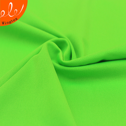 Knitted Polyester Elastane Dri Fit Fabric For Under Armour Sports Wear