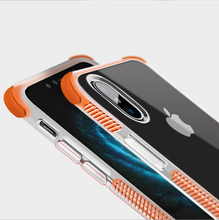 New Drop Resistance 4 Corner Color Bumper Shockproof Transparent Clear Case For iPhone X 10 8 Plus