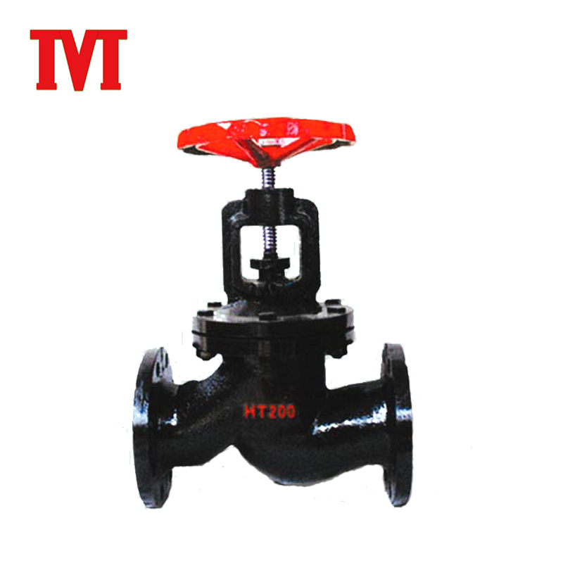 China manufacture thread type air forged globe valve