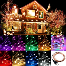 String Lights, Starry Fairy Lights Waterproof Decorative Lights for Bedroom, Patio, Garden, Yard, Parties, Wedding