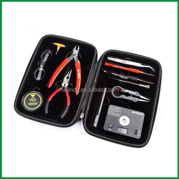 New Arrival Vape Tool Kit Coil Master DIY RDA RBA Tools kit V4