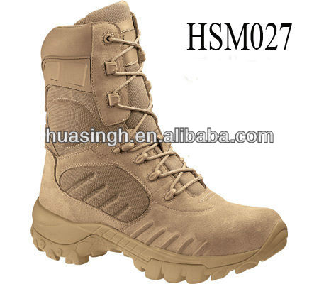 US ranger favored Navy Seals BUDS training breathable desert boots BATES in tan for military,tactical