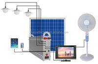 Factory Price Wireless Solar Home System 100 Watt
