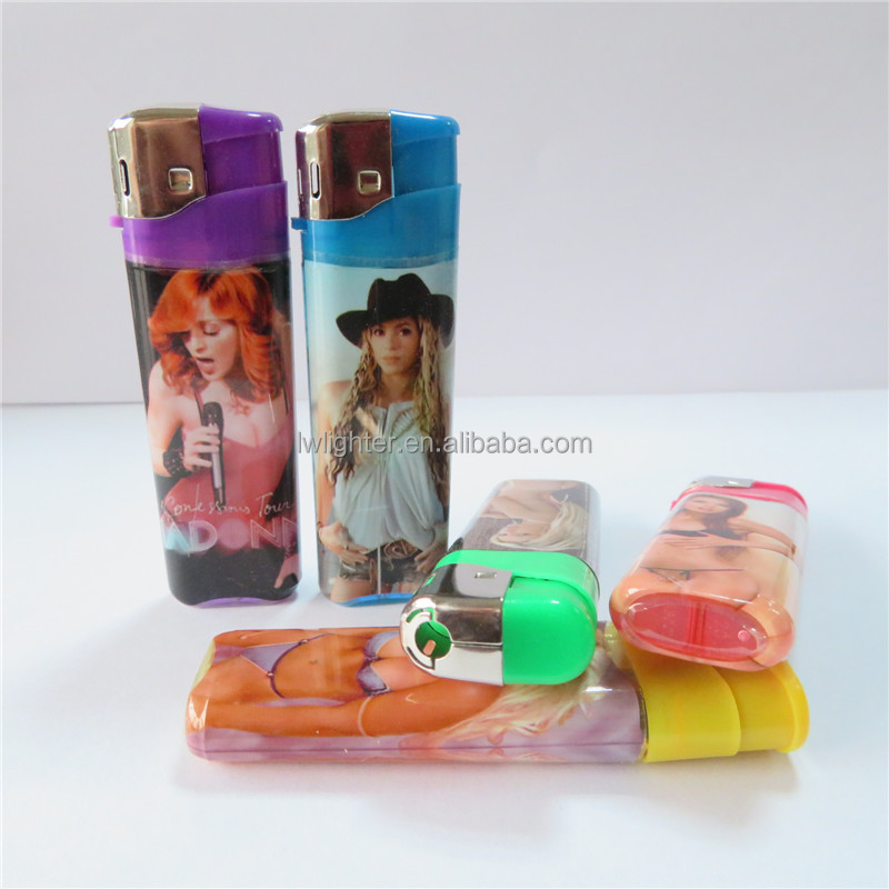 Plastic Gas Cigarette Pocket Lighter