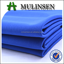 Mulinsen Textile Hot Sale Plain Dyed Knitted Polyester Lycra Thick Heavy Jersey DTY Scuba Stretch Fabric for Dress Garment