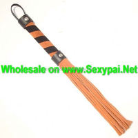 2014 New Sexy Flirting Toy Sex PU Leather Whip Exotic Products Sex Toys For Womens and Mans