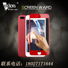 the newest iphone7s tempered glass screen protector 3D curved full cover with best factory price