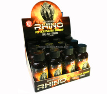 Adhesive Stickers For Rhino Energy Drink / Male Enhancement Drink Display Box