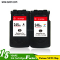 chip reset inkjet ink cartridge for Canon PG245 Cl246