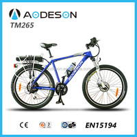 24v lithium battery newest electric bicycle TM265 electric tricycle with aluminum frame