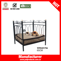 High Quality Wholesale Luxury Antique Metal Frame Dog Bed