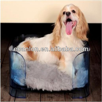 High Quality Cute Acrylic Pet Dog Bed
