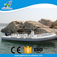 Aluminum Hull Material and Outboard Engine Type Custom Center Console Rigid Inflatable Fishing Yacht Price