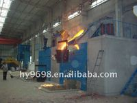 High temperature induction melting furnace