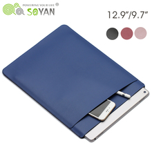 12.9 Inch Protective Tablet Case For iPad Pro Slim Smart Leather Cover for iPad Mini 2/3/4 Bags,for iPad Air 2 Sleeve Bag