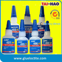 plastic rubber metal wood leather instant adhesive super glue